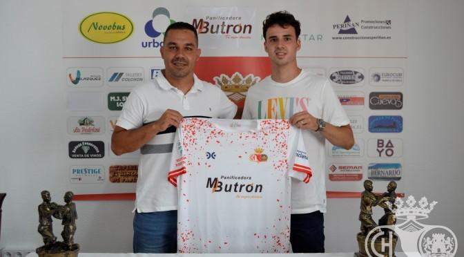 Mario Casero, nuevo jugador del Chiclana C.F.