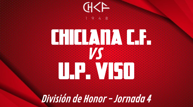 Rueda de prensa: CHICLANA C.F. vs U.P. VISO (10/10/2021)