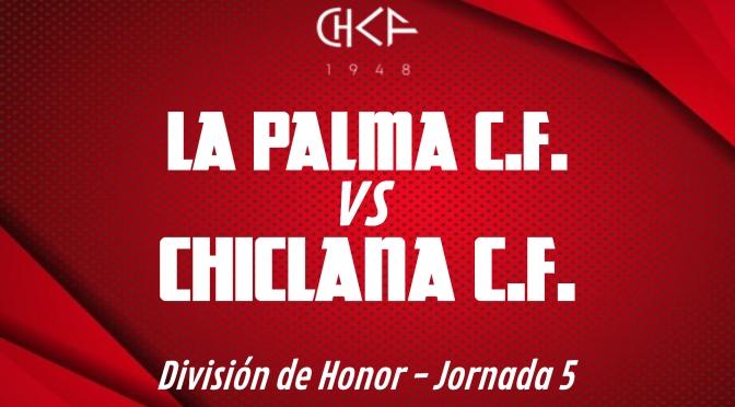 Rueda de prensa: CHICLANA C.F. vs LA PALMA C.F. (17/10/2021)